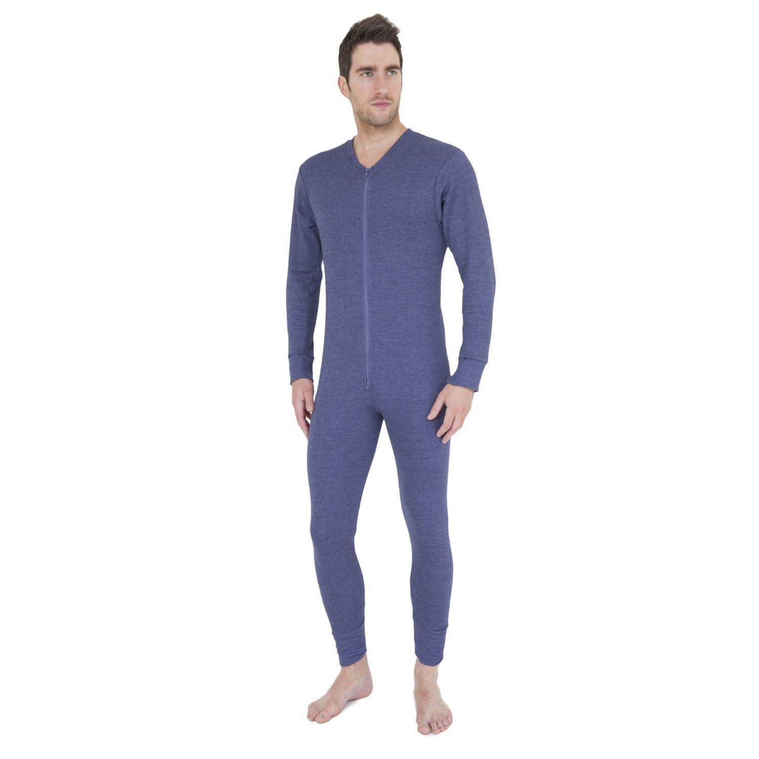 Mens Thermal Underwear All In One Union Suit. Full body ... e7ae864f7