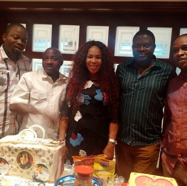 fathia balogun birthday dinner