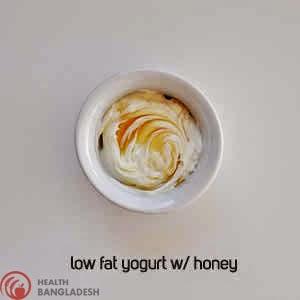 Low fat Yogurt W/ Honey