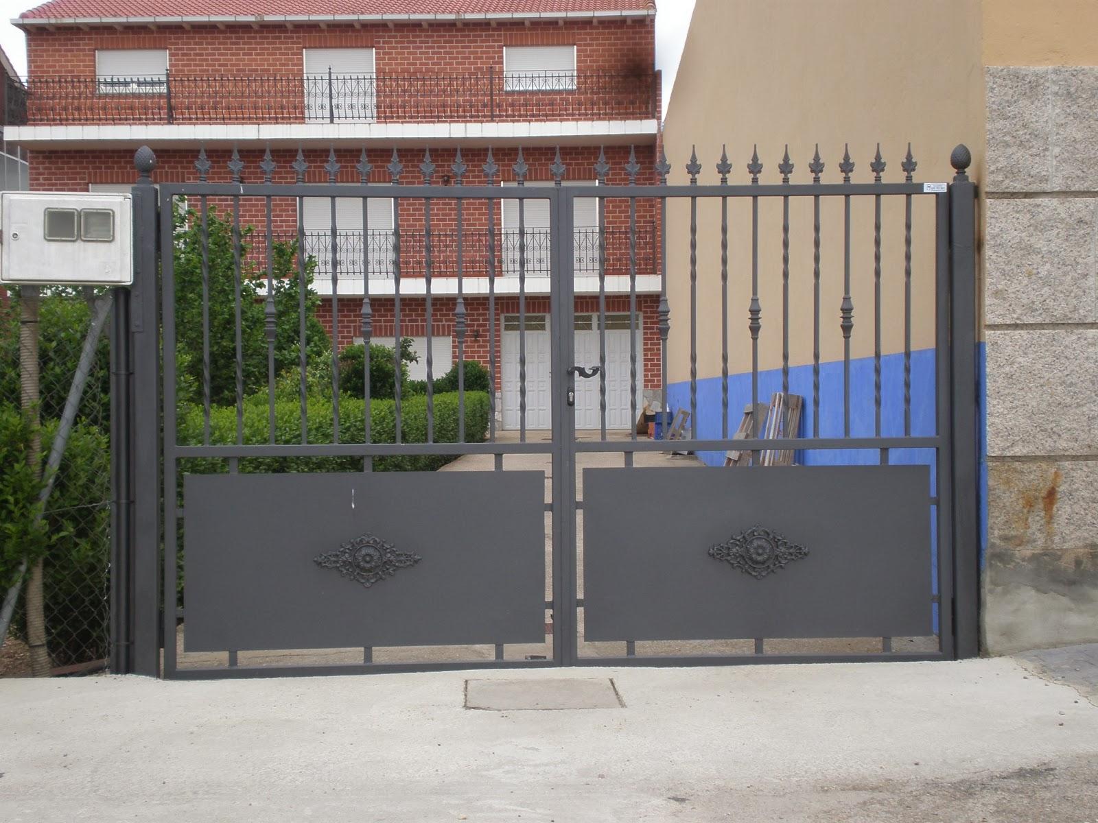 puertas electricas para fincas modelos varios puertas de acceso a finca correderas y abatibles