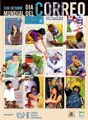 El 9 de octubre se celebra el día mundial del correo