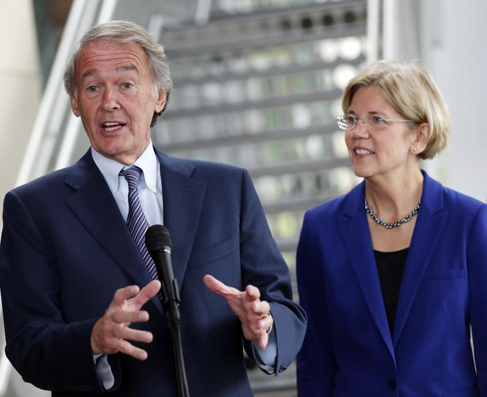 Ed Markey would make the PERFECT partner for Elizabeth Warren