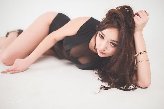 1 Kim Da On - Studio Photo Shoot - very cute asian girl-girlcute4u.blogspot.com