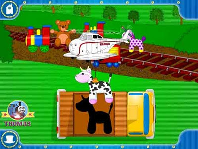 XP Windows Vista computer software for kids Thomas the train Harold the helicopter Special Delivery