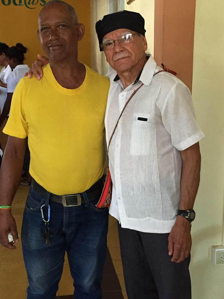 Oscar Lopez Rivera  y yo.