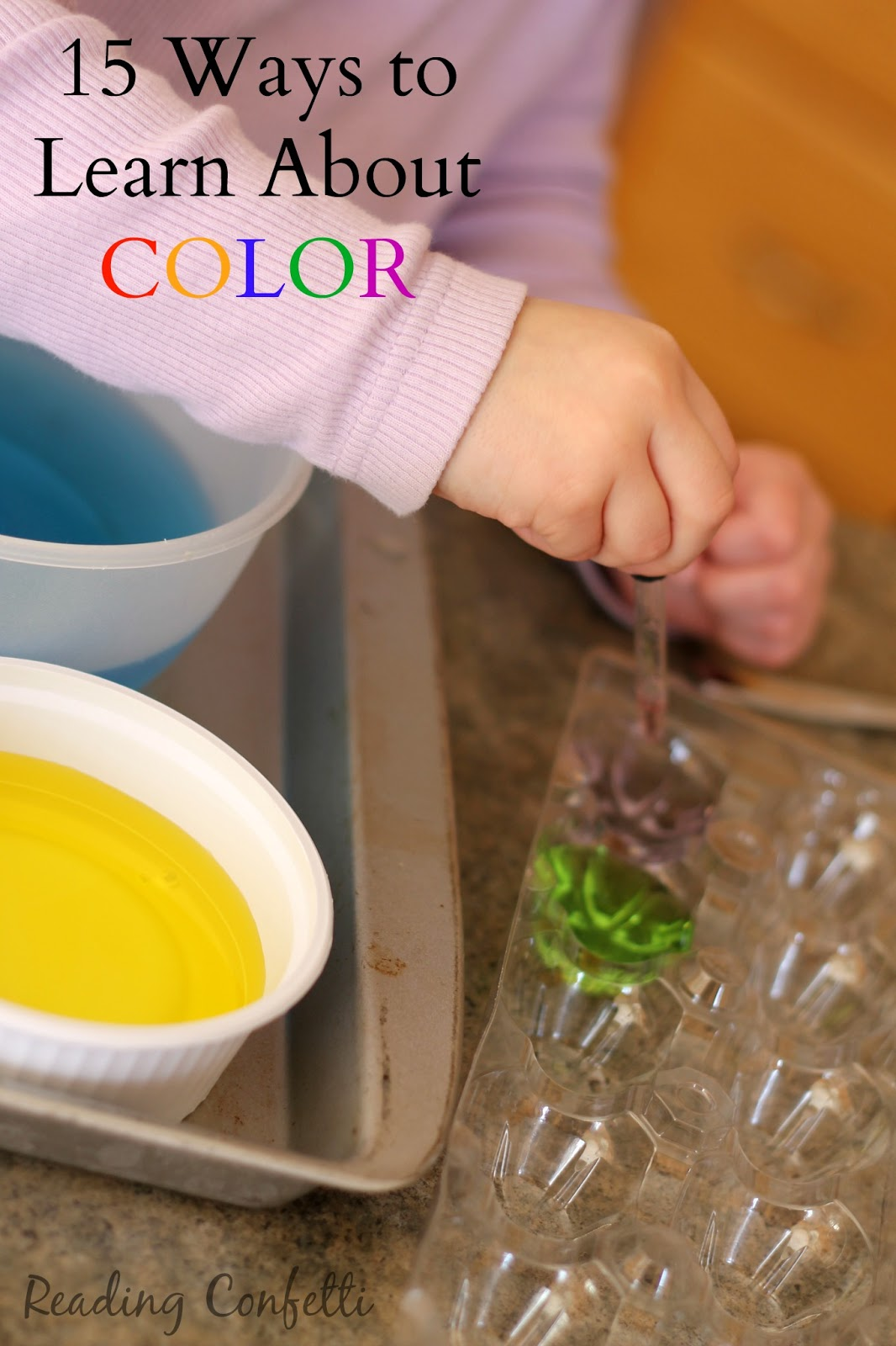 15 color activities for kids