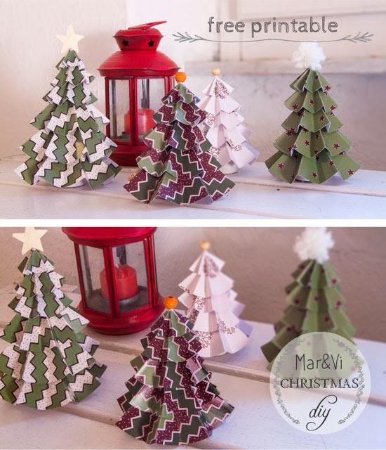 0d8096ebcab Como véis estos arboles son un adorno de navidad fácil