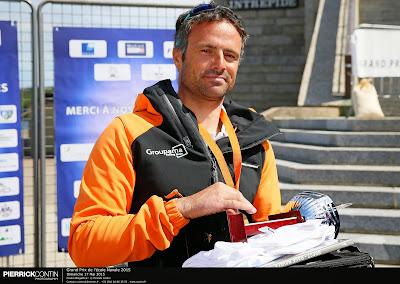 Franck Cammas champion de France en Diam 24.
