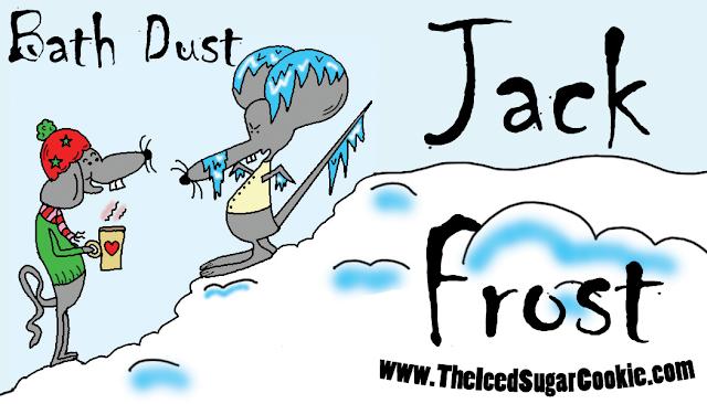 Christmas Jack Frost Bath Salts, Bath Soaks, Bath Bombs, Bath Fizzies