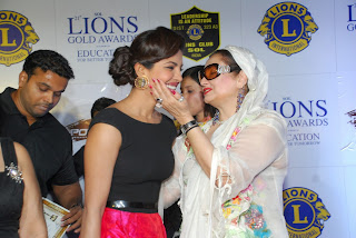 Priyanka Chopra at Lions Gold Awards 2015  (5).JPG