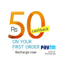 Recharge & Bill Payment get Rs. 30 Cashback on Rs. 30 & Rs. 50 cashback on Rs. 50 Via  Paytm :Buytoearn