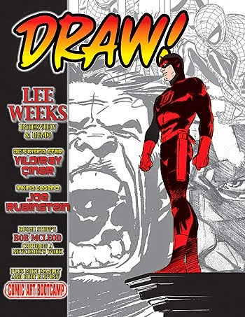 DRAW! Magazine NO. 25--Shipping in July