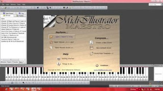 Cara Megubah file Midi menjadi partitur sheet not balok dan not angka
