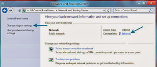 win7 networking connection