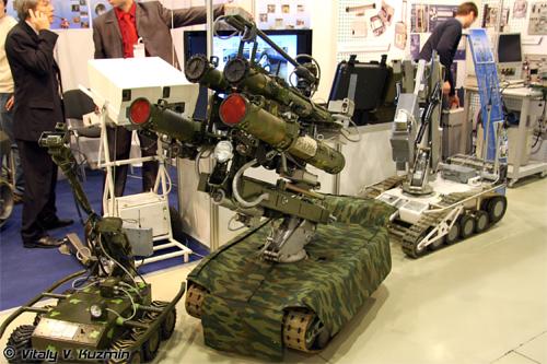 O uso do novo robô de guerra russo pode reduzir o número de baixas humanas