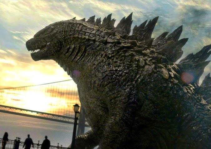 Gambar Film New Godzilla 2014 Monster vs Monster
