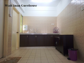 Wadi Iman Guesthouse, kitchen, guesthouse, homestay, Shah Alam