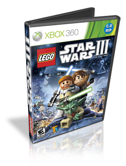 Download Lego Star Wars III The Clone Wars Xbox 360 RF (Região Free)