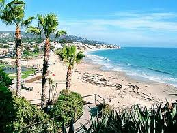Laguna Beach as seen from Hiesler Park