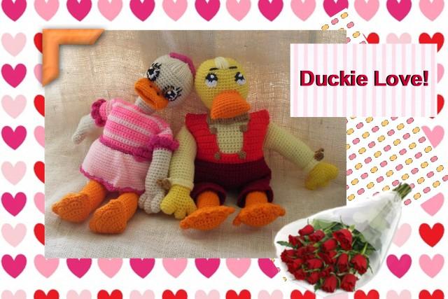 ernie macducklinson crochet duck