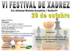 FESTIVAL  DE XADREZ