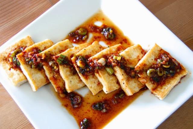 Korean-Style Chili-Garlic Tofu image