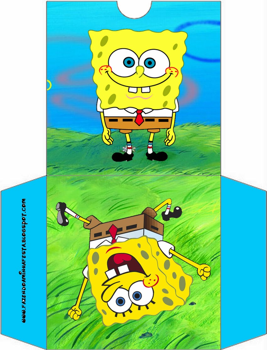SpongeBob SquarePants Party Free Printables  Is it for PARTIES