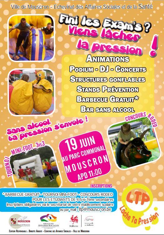 Actualit s mouscron comines mouscron on relachera la for Piscine de mouscron