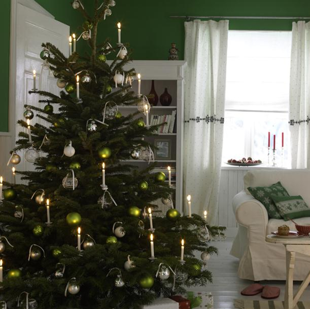 Christmas Tree Simple Decorating Ideas: Christmas Home Decor And Christmas Tree Decorating Ideas