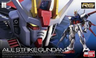 Real Grade 1/144 GAT-X105 Aile Strike Gundam