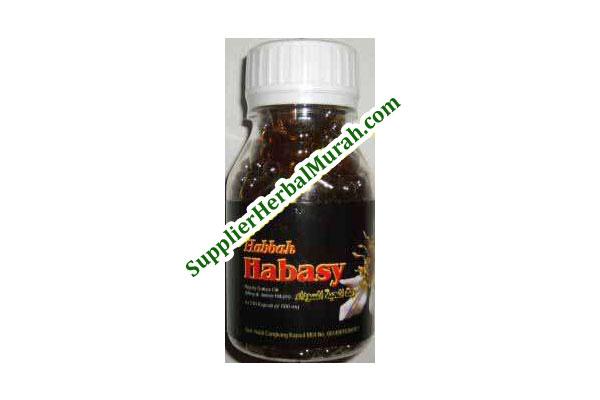 Kapsul Minyak Habbah Habasy isi 210 (Grosir Herbal)