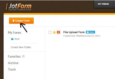 create a new form with jot form the best online form