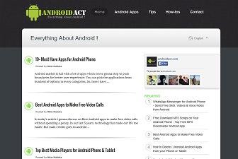 AndoidAct Blogger Templates