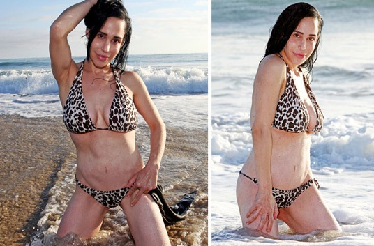nadya suleman bikini photos. 2011 Octomom Nadya Suleman is nadya suleman bikini photos.
