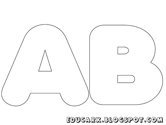 Modelos de letras e números