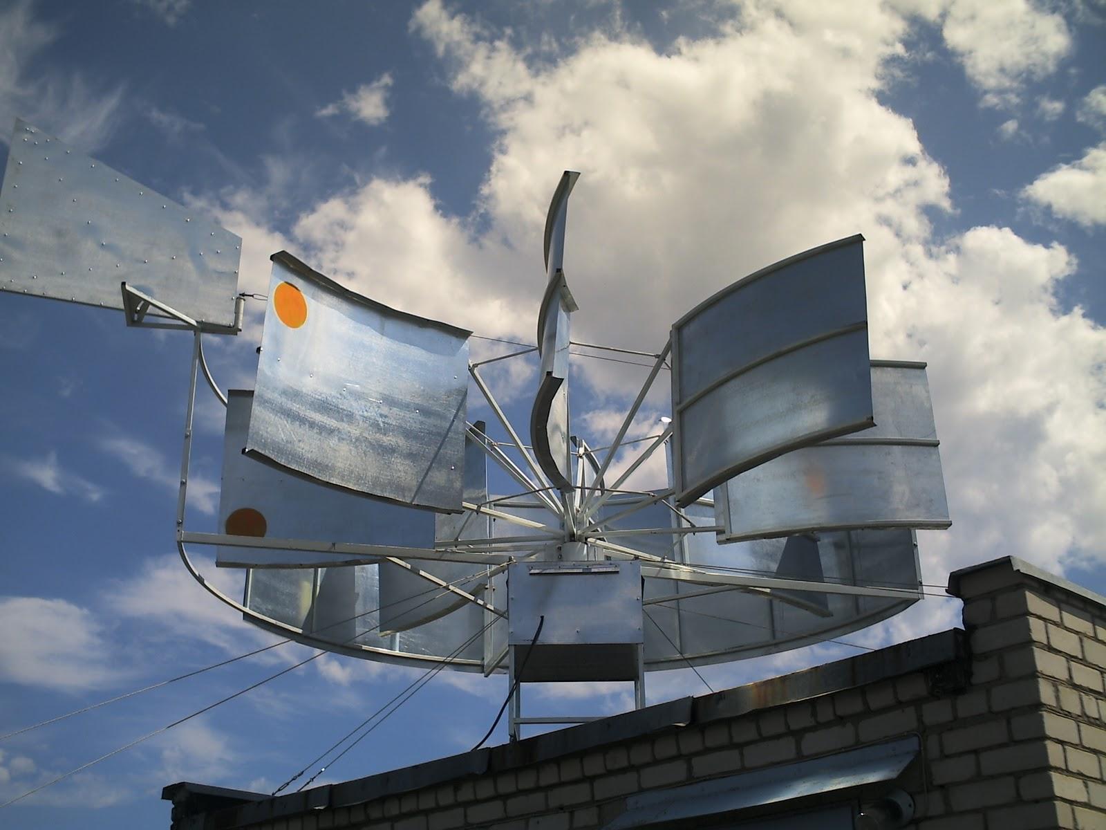 Как сделать домашний ветрогенератор своими руками