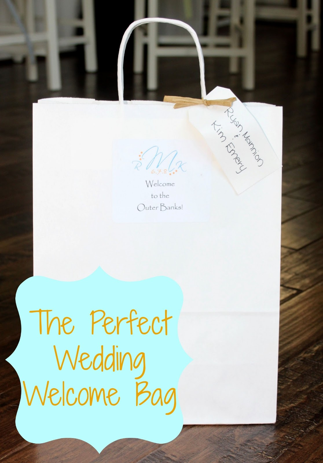 the anatomy of welcome bag wedding welcome bags The Anatomy of Our Welcome Bags
