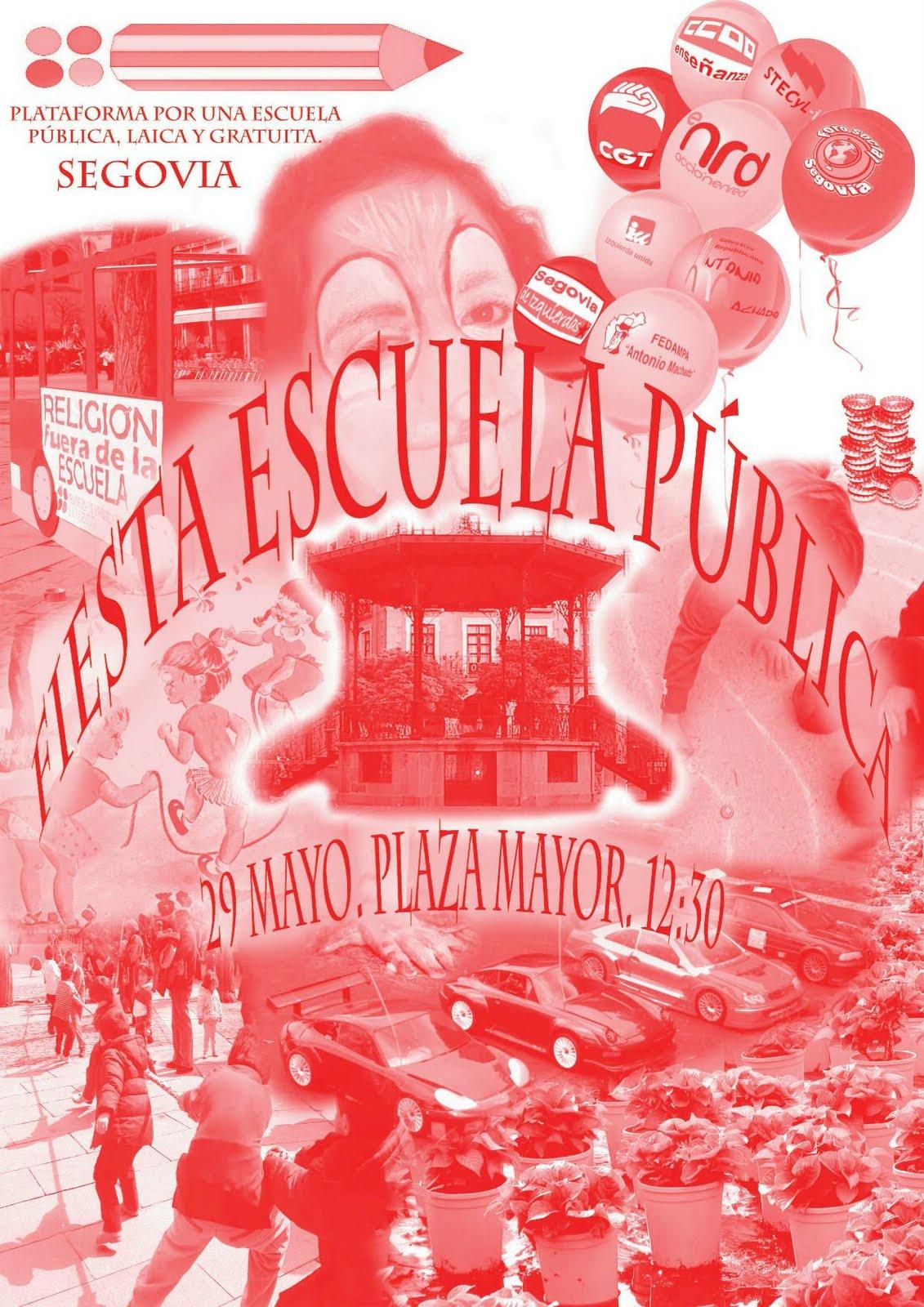 FIESTA DE LA ESCUELA PÚBLICA