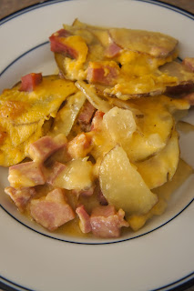 Cheesy Scalloped Potatoes with Ham: Savory Sweet and Satisfying