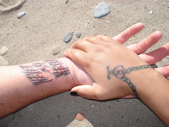 Wrist Bracelet Tattoos6