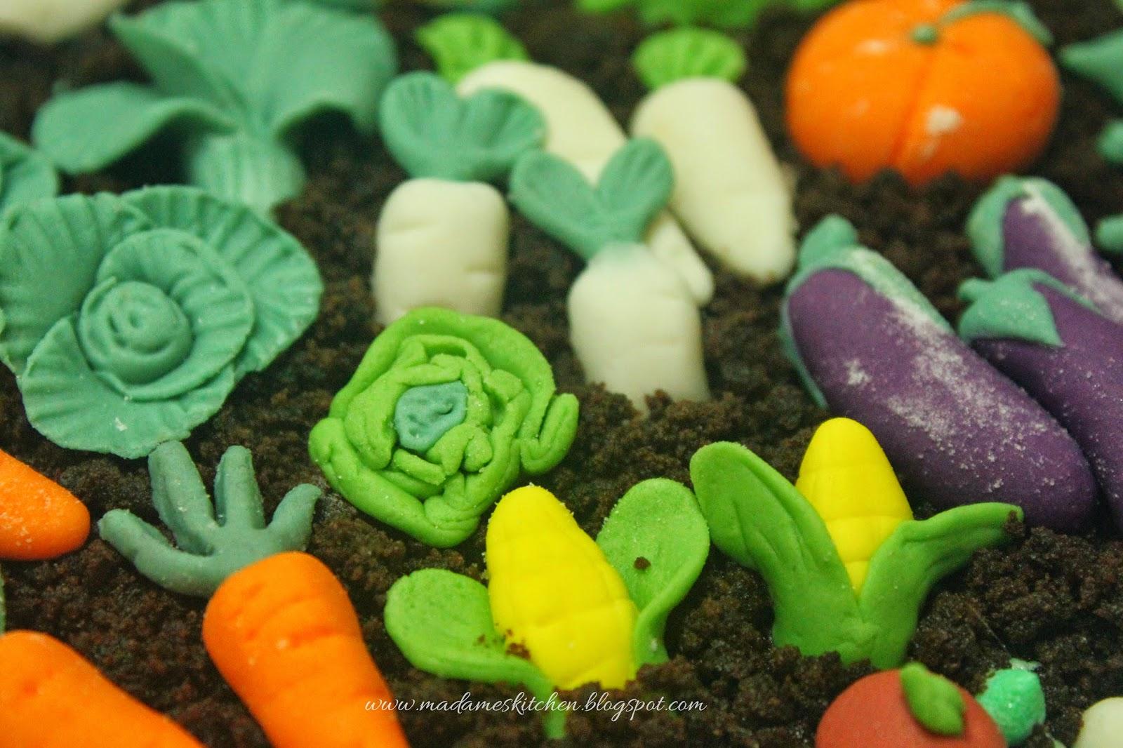 Vegetable Cake Decorations