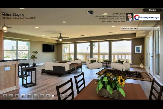 Virtual Staging by Island Digital Imaging   RTV Inc