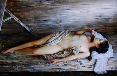 Mujeres Dormidas Pinturas Al Oleo