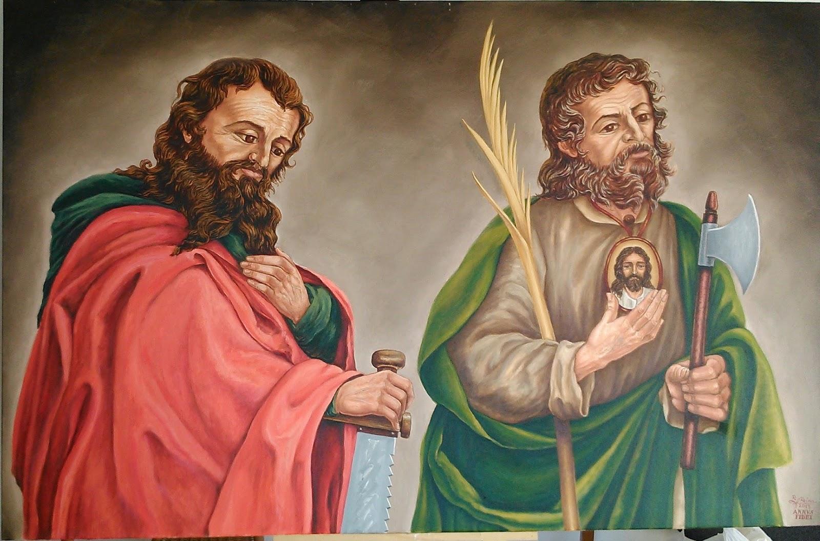 Imagenes De San Judas Tadeo Para Colorear >> ® Santoral Católico ®: IMÁGENES DE SAN SIMÓN Y SAN JUDAS TADEO