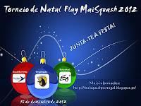 Torneio de Natal Play MaiSquash 2012