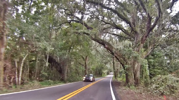 Miccosukee Road in Tallahassee, Florida USA
