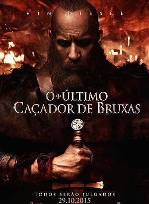 Filme Poster O Último Caçador de Bruxas HDRip XviD Dual Audio & RMVB Dublado