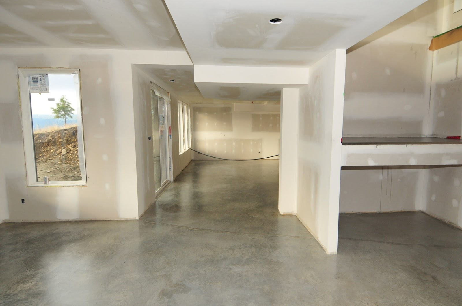 MODE CONCRETE Basement Concrete Floors Naturally Look Modern and