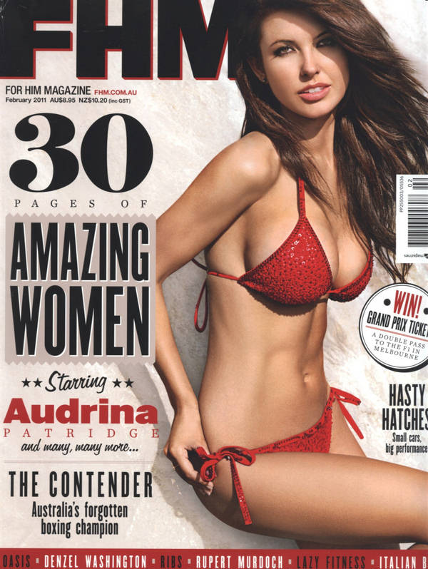 Scans from FHM Magazine of Sexy Celebrities: Audrina Patridge FHM ...