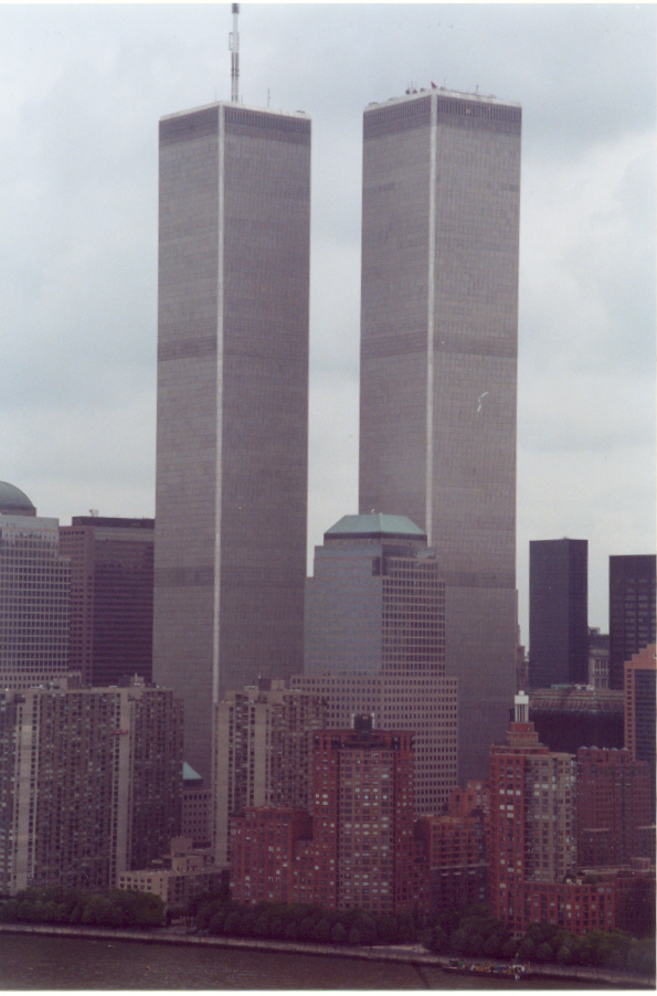 World Trade Center by Peter Skinner (2002, Transparencies)